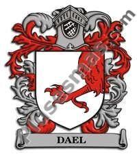 Escudo del apellido Dael