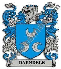 Escudo del apellido Daendels