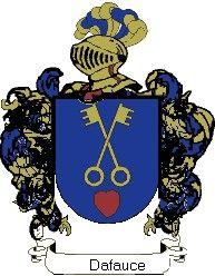 Escudo del apellido Dafauce