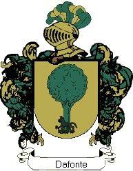Escudo del apellido Dafonte