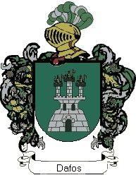 Escudo del apellido Dafos