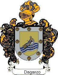 Escudo del apellido Daganzo