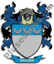 Escudo del apellido Dagard