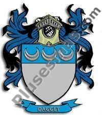 Escudo del apellido Dagget