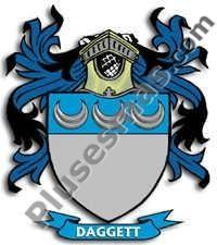 Escudo del apellido Daggett