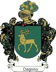 Escudo del apellido Dagnino