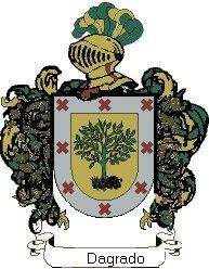 Escudo del apellido Dagrado