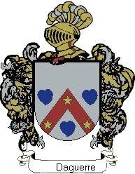 Escudo del apellido Daguerre