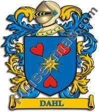 Escudo del apellido Dahl