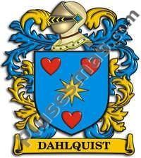 Escudo del apellido Dahlquist