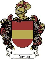 Escudo del apellido Damato