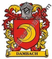 Escudo del apellido Dambach