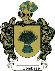 Escudo del apellido Dambese
