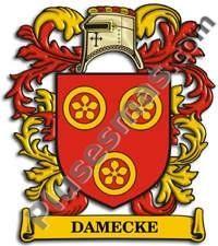 Escudo del apellido Damecke