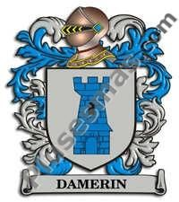 Escudo del apellido Damerin