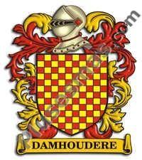 Escudo del apellido Damhoudere