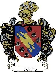 Escudo del apellido Damino