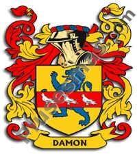 Escudo del apellido Damon