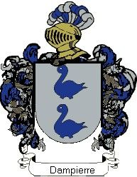 Escudo del apellido Dampierre