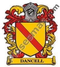 Escudo del apellido Dancell