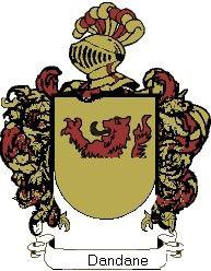 Escudo del apellido Dandane