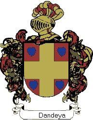Escudo del apellido Dandeya