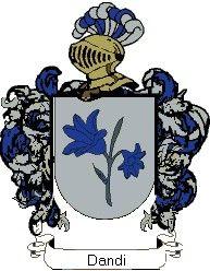 Escudo del apellido Dandi