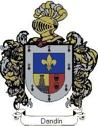 Escudo del apellido Dandín