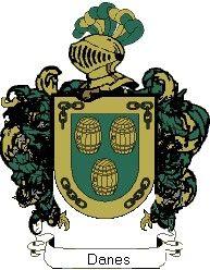 Escudo del apellido Danes