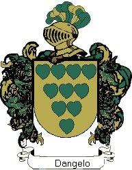 Escudo del apellido Dangelo