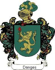Escudo del apellido Danges