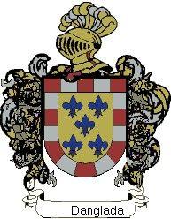 Escudo del apellido Danglada