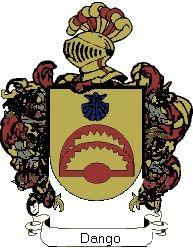Escudo del apellido Dango