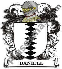 Escudo del apellido Daniell
