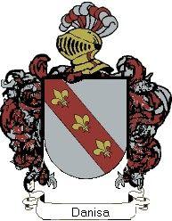 Escudo del apellido Danisa