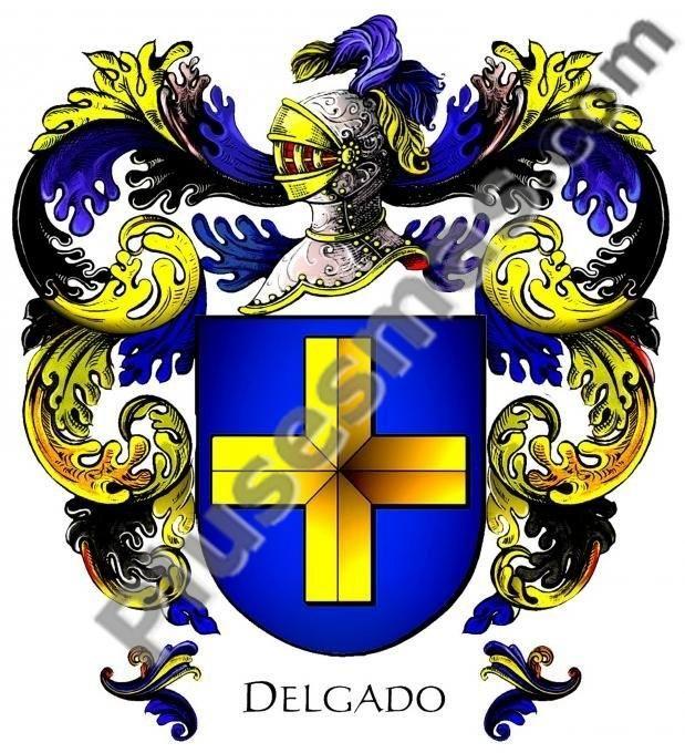 Escudo del apellido Delgado