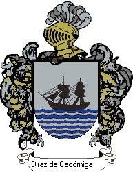 Escudo del apellido Díaz de cadórniga