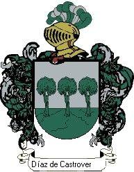 Escudo del apellido Díaz de castroverdo