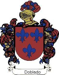 Escudo del apellido Doblado
