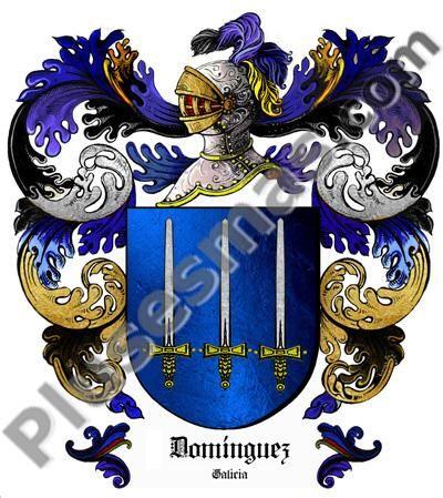Escudo del apellido Domínguez