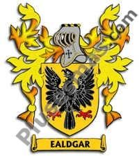 Escudo del apellido Ealdgar