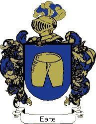 Escudo del apellido Earte