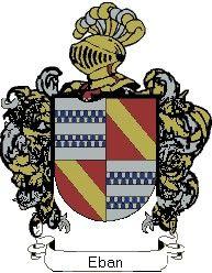 Escudo del apellido Eban