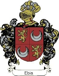 Escudo del apellido Ebia