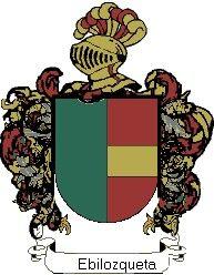 Escudo del apellido Ebilozqueta