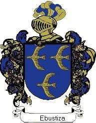 Escudo del apellido Ebustiza