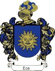 Escudo del apellido Eca