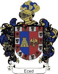 Escudo del apellido Eced