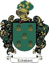 Escudo del apellido Echaberri
