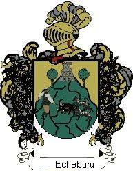 Escudo del apellido Echaburu